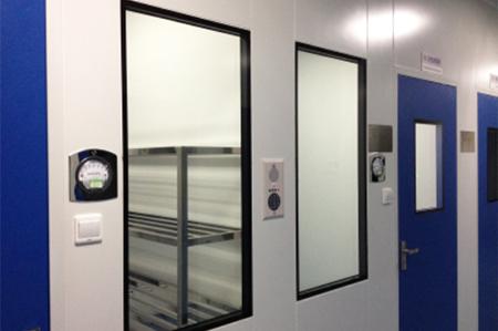 CW系列洁净室密闭观察窗应用实例